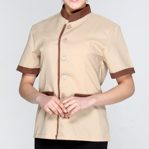 Chineese Half Collar Housekeeping Shirts